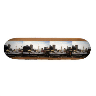 Tiled Photo Template Skateboard