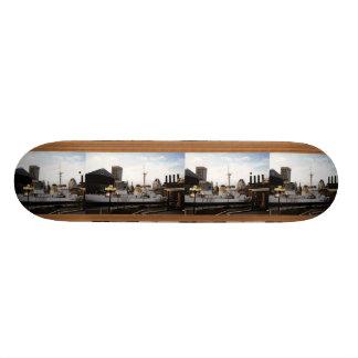 Tiled Photo Template Skateboard