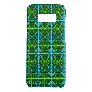 Tiled Surprised Monster Pattern iPhone Case