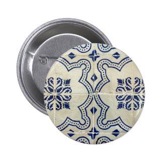 Tiles 6 Cm Round Badge