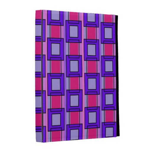 Tiles and Rectangles Patterns iPad folio case
