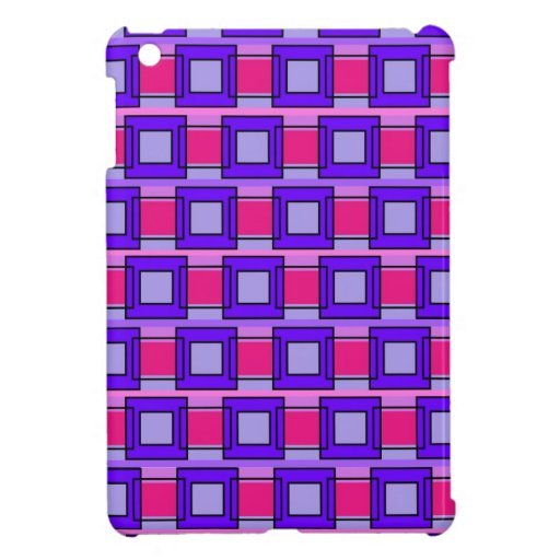 Tiles and Rectangles Patterns Case For The iPad Mini