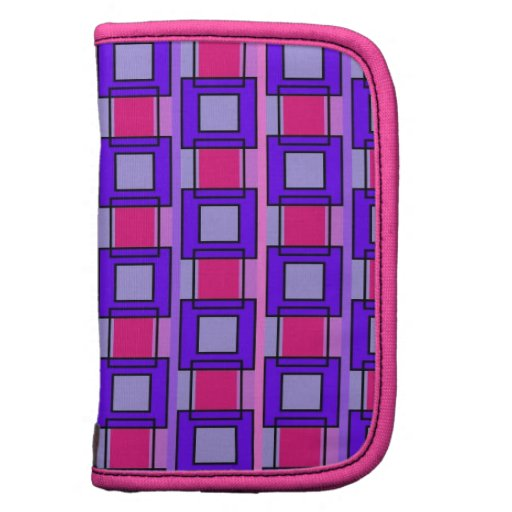 Tiles and Rectangles Patterns Mini Folio Planner
