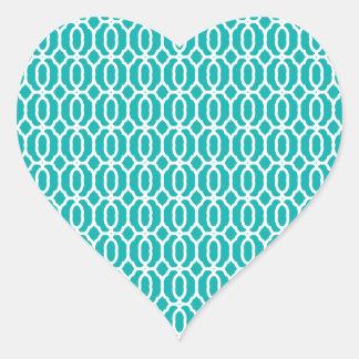 tiles Beautiful fine style fame fashion love moder Heart Sticker