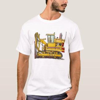Tiling Machine Construction Apparel T-Shirt