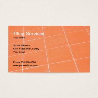 Tiling Services Business Card