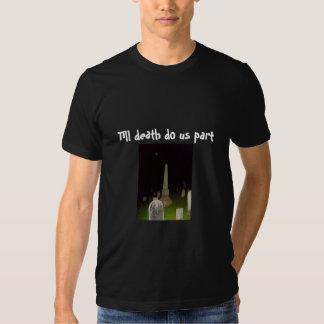 Till death do us part-Humor-Groom-T-Shirt T-shirt