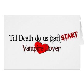 Till Death do us start Card