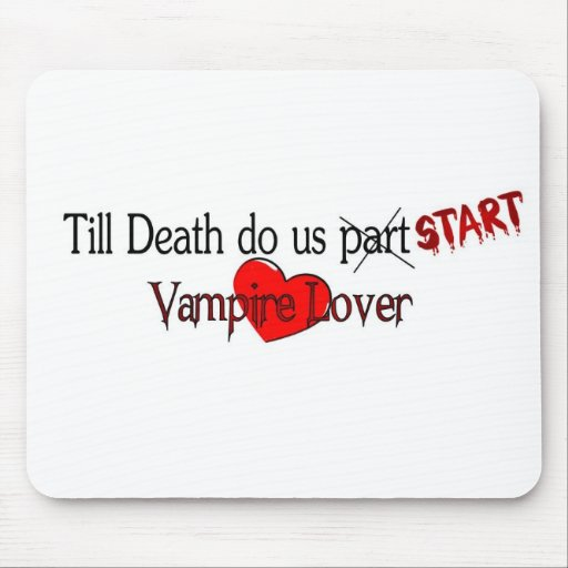 Till Death do us start Mouse Pad