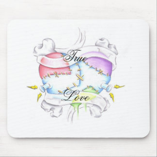 till death mouse pad