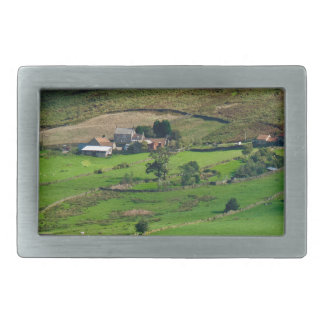 Till the cows come home rectangular belt buckle