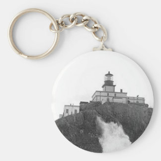 Tillamook Rock Lighthouse Key Ring