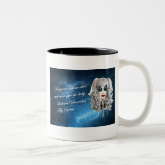 Tilly Squirts: Virtual Drag Queen Two-Tone Coffee Mug