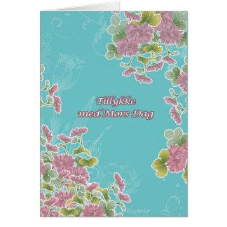 tillykke med mors dag, Danish Mother's Day card
