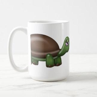 Tilt & Sprout Logo Mug with Tortoise