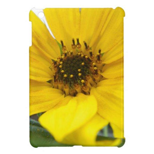 Tilted Sunflower iPad Mini Cases