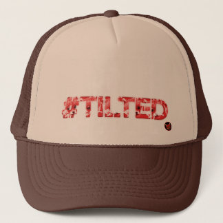 #Tilted Trucker Hat