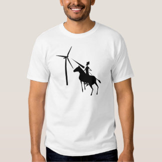 Tilting At Turbines Tshirts