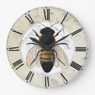 Tim Campbell's Honey Bee Wall Clock
