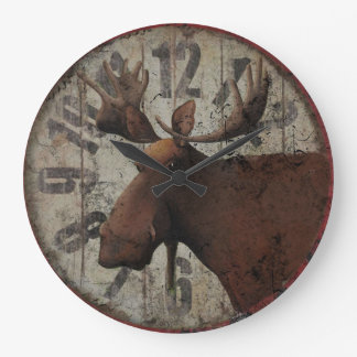Tim Campbell's Moose Wall Clock