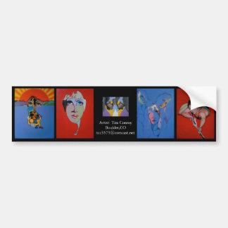 Tim Conroy: The Artist Bumper Sticker