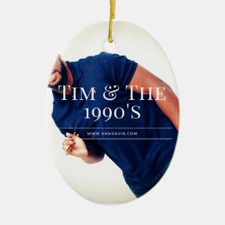 Tim Drummer Ceramic Ornament