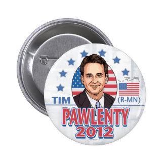 Tim Pawlenty 2012 Shirt Button