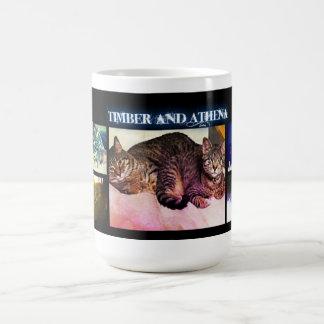 """Timber and Athena """"Siblings"""" Mug"""