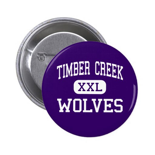 Timber Creek - Wolves - High - Orlando Florida Pin