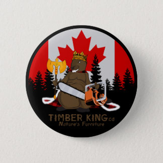 Timber King Log and Stone Furniture 6 Cm Round Badge