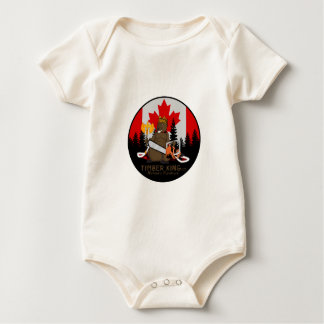 Timber King Log and Stone Furniture Baby Bodysuit