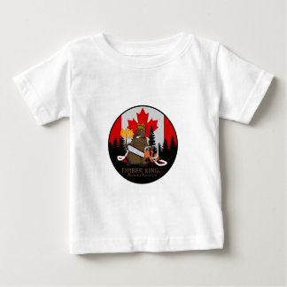 Timber King Log and Stone Furniture Baby T-Shirt