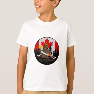 Timber King Log and Stone Furniture T-Shirt
