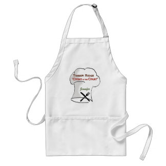 Timber Ridge Cooks in the Court - Jennifer Standard Apron