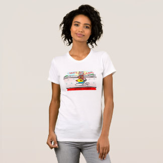 Timber the beaver skates the canal T-Shirt