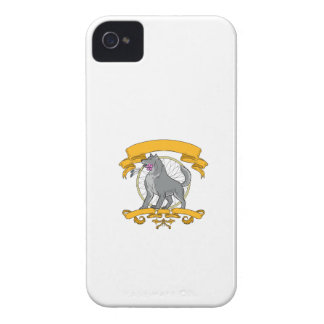 Timber Wolf Plumeria Flower Dreamcatcher Drawing iPhone 4 Case