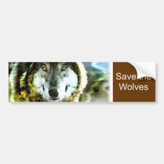 Timber Wolf Products from JungleWalk.com Bumper Sticker