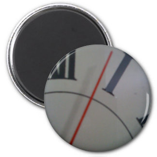 Time 6 Cm Round Magnet