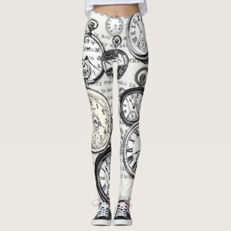 Time Alice in Wonderland leggings
