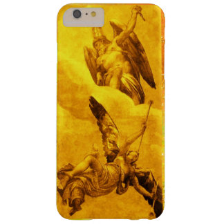 TIME AND FAME ALLEGORY / Gold Yellow Barely There iPhone 6 Plus Case