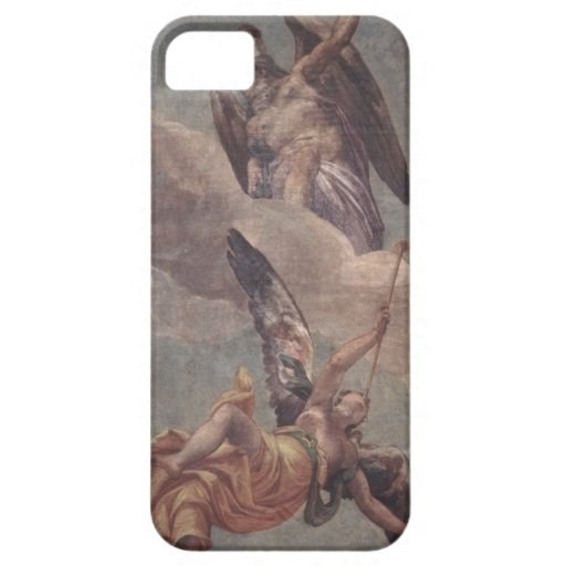 Time and Fame, from the sacristy (fresco) iPhone 5 Case
