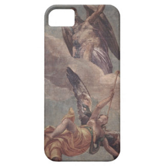 Time and Fame from the sacristy fresco iPhone 5 Case