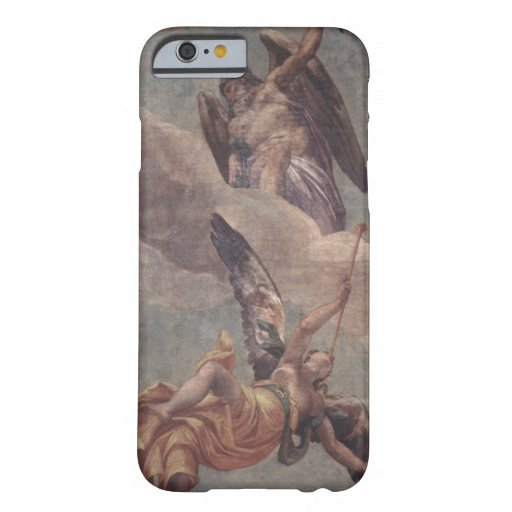 Time and Fame, from the sacristy (fresco) iPhone 6 Case