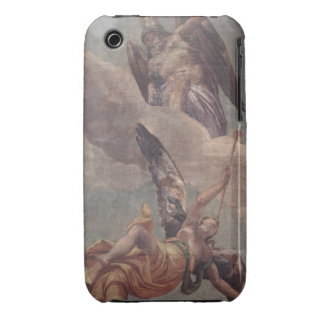 Time and Fame, from the sacristy (fresco) iPhone 3 Case-Mate Cases