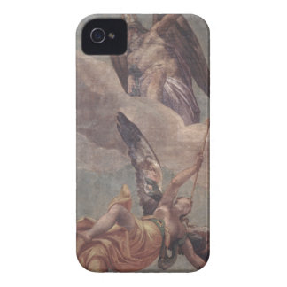 Time and Fame, from the sacristy (fresco) iPhone 4 Case-Mate Case