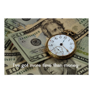 Time and money poster