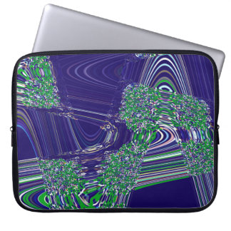 TIME AND SPACE ARE NEVER LINEAR LAPTOP SLEEVE
