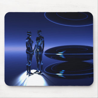 Time and Space Travelers Mouse Pad