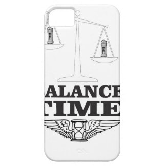 time balance tip iPhone 5 case