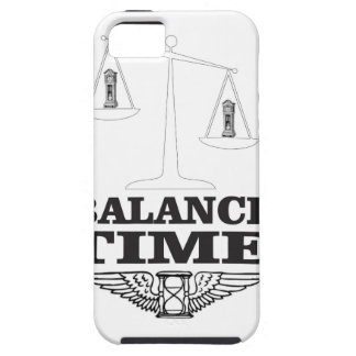 time balance tip iPhone 5 cover
